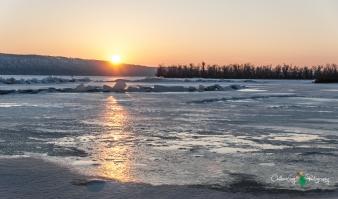 Sunset - Lake Pepin. Maiden Rock, WI