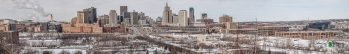 St. Paul Skyline Pano