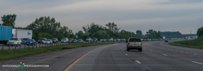 Nasty I94 Southbound traffic