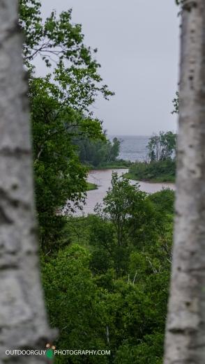 View toward Lake Superior
