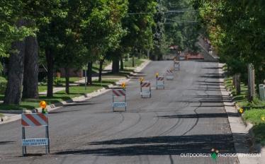 Street ready for resurfacing