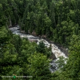 View of Upper Falls from observation point