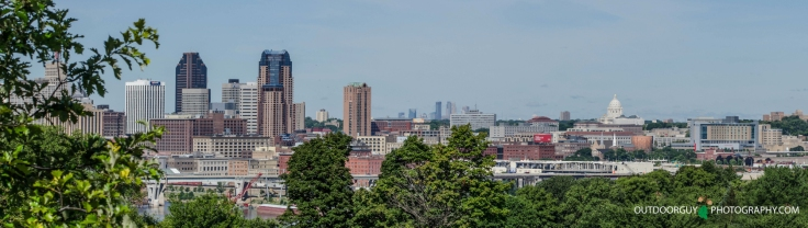 St Paul Skyline 1