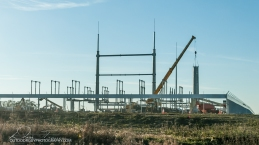 Hwy 52 substation constructions
